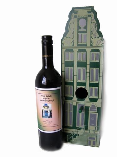 Wijngeschenk nieuwe woning