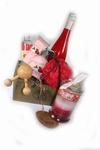 Valentijn bad wijngeschenk