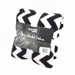 Plaid Mix Match zwart Wit
