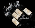 Klein wijnflesje