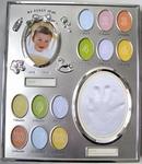 Baby Fotolijst My first year met handafdruk